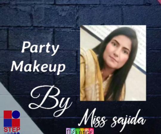Wedding Guest Look Makeup By Miss Sajida Khalid – Melange – STEP IADM