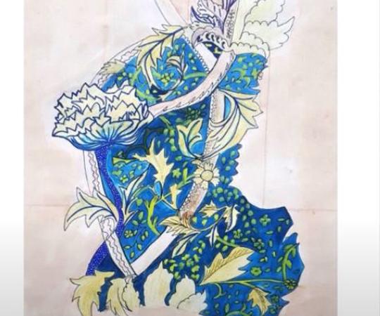 Fine Art Online Digital Exhibition Overview by Miss Iqra Adeel – STEP IADM